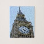 Reloj de Big Ben en Londres, Inglaterra Reino Unid Puzzles