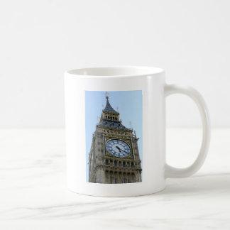 Reloj de Big Ben en Londres, Inglaterra Reino Unid Tazas De Café