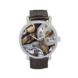 Reloj de bolsillo del vintage del Victorian de