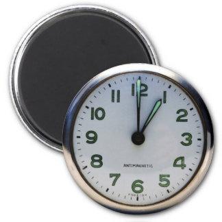 Reloj de bolsillo imán redondo 5 cm