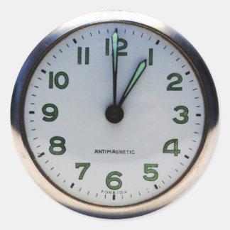 Reloj de bolsillo pegatina