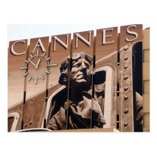 reloj de Cannes Postal