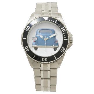 Reloj de Chevy del azul del vintage 1940