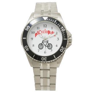 Reloj de ciclo de la fan de la bici