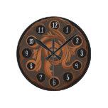 Reloj de cobre encantador