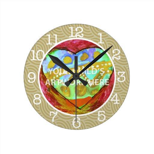 Reloj de color topo $27,95 del remolino