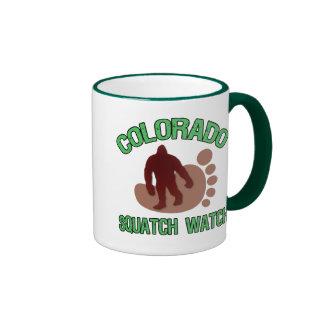 Reloj de Colorado Squatch Taza De Café