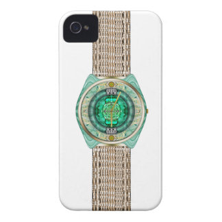 Reloj de cristal carcasa para iPhone 4 de Case-Mate