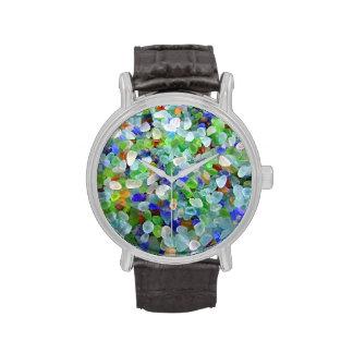 Reloj de cristal del mar