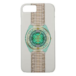 Reloj de cristal funda iPhone 7