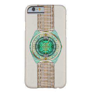 Reloj de cristal funda para iPhone 6 barely there