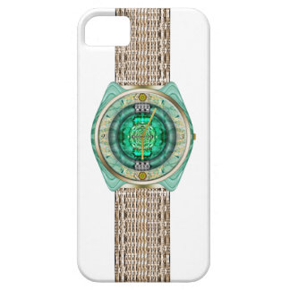 Reloj de cristal iPhone 5 carcasas