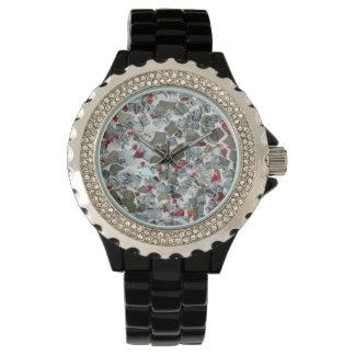 Reloj de cristal roto art déco
