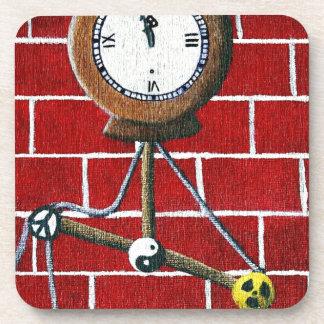 Reloj de día de las condenaciones posavaso