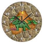 Reloj de Dino del dibujo animado