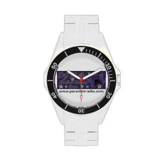 Reloj de DJ Kathy (acero inoxidable clásico)