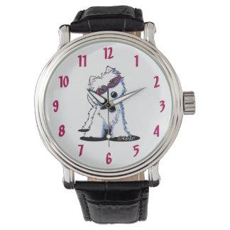 Reloj de Doggles Westie Terrier