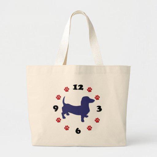 Reloj de Doxie del Dachshund Bolsa