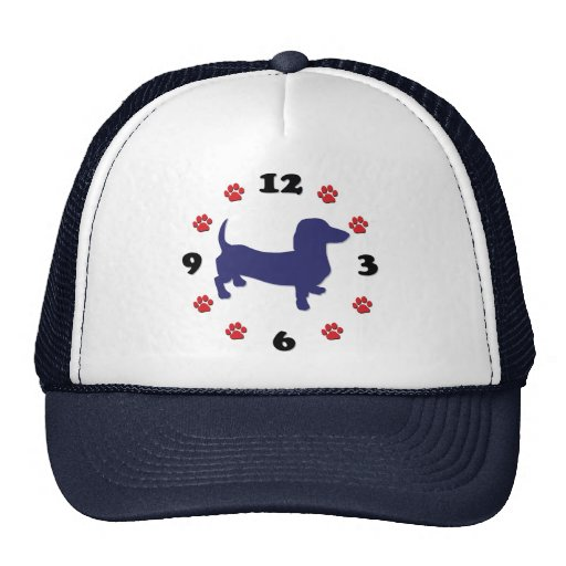 Reloj de Doxie del Dachshund Gorro