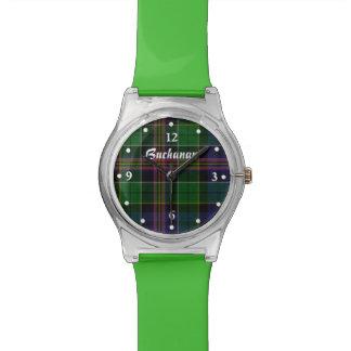 Reloj de encargo de Allison del clan verde moderno