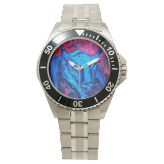 Reloj de encargo de la pintura de Bull del