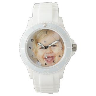 Reloj de encargo de las memorias de la foto