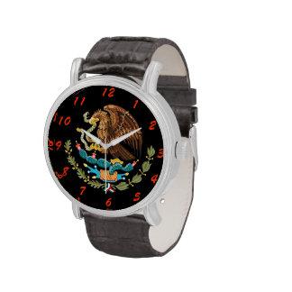 Reloj de encargo del escudo de armas de México