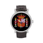 Reloj de encargo del escudo de armas de Spain*
