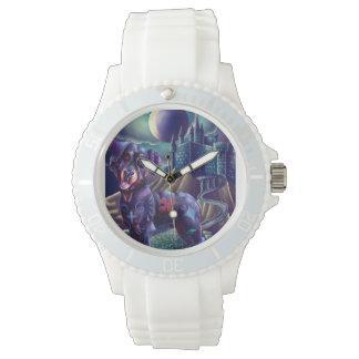 Reloj de encargo deportivo blanco Roxy el