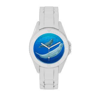 Reloj de encargo S de la ballena