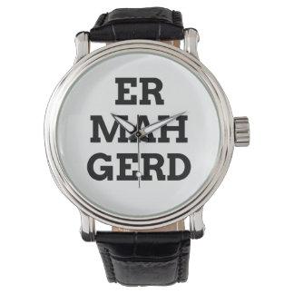 Reloj de Ermahgerd