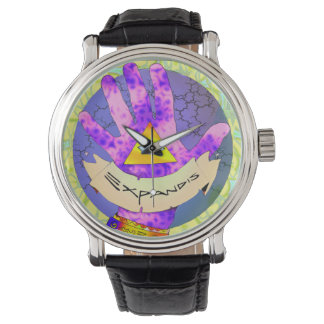 Reloj de Expandis, de ojo mágico, todo-viendo el