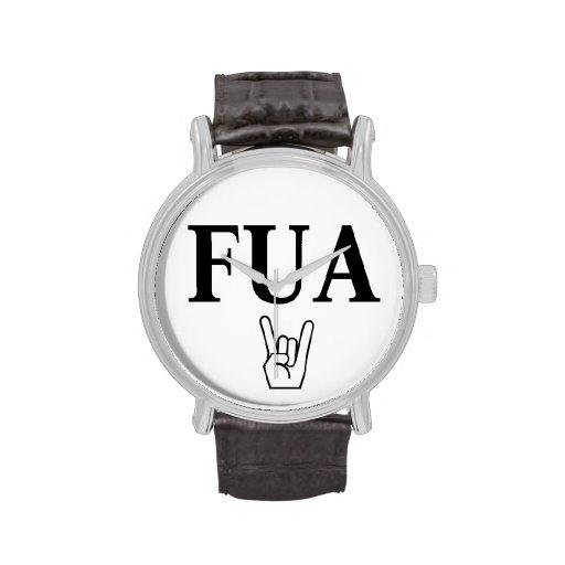 Reloj de FUA