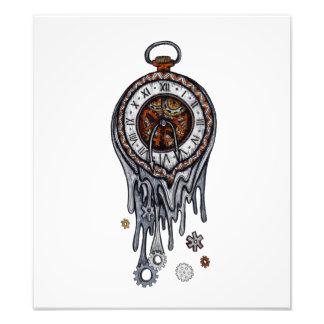 Reloj de fusión fotografías