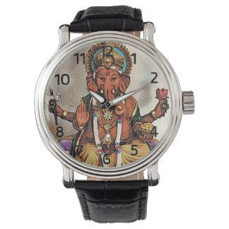 Reloj de Ganesha (con los números romanos)