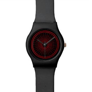 Reloj de giro ligero llevado gamma del extracto ro