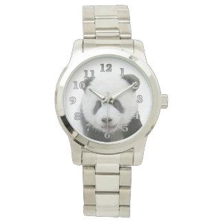 Reloj de gran tamaño unisex de la pulsera de la