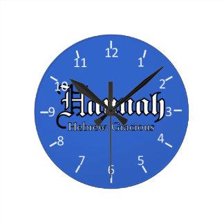 Reloj de Hannah