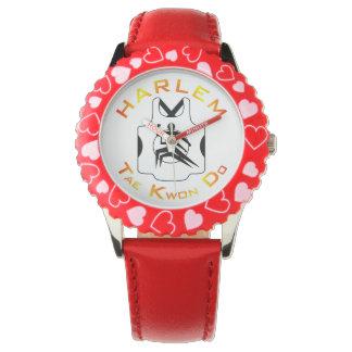 Reloj de Harlem TKD de los niños