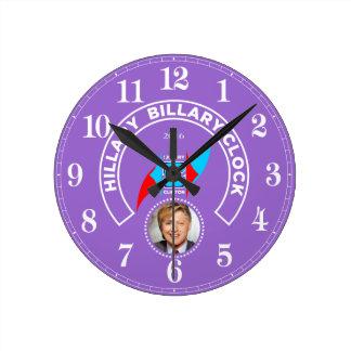 Reloj de Hillary Billary - como el muelle de