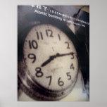reloj de Hiroshima Impresiones