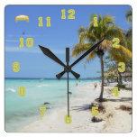Reloj de Jamaica de la playa de Negril