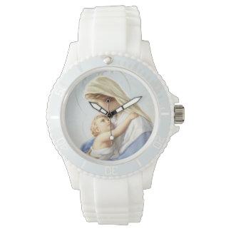 Reloj de Jesús del Virgen María y del bebé