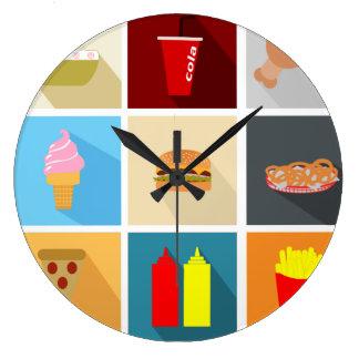 Reloj de Junk Food