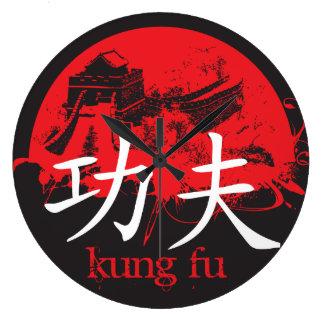Reloj de Kung Fu