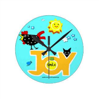 Reloj de la alegría del gallo para hacerle feliz