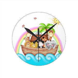 Reloj de la arca de BaZooples Noah