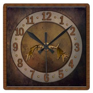 Reloj de la asta de los ciervos - cueva del hombre