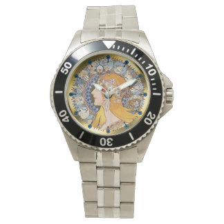 Reloj de la astrología del horóscopo del zodiaco