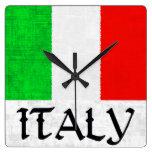 Reloj de la BANDERA de ITALIA